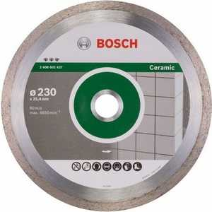 Алмазный диск Bosch 230х25.4 мм Best for Ceramic (2.608.602.637) круг алмазный bosch ф125х22мм по керамике best for ceramic 125x22 2 608 602 631