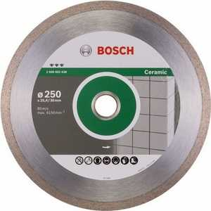 Диск алмазный Bosch 250х30/25.4 мм Best for Ceramic (2.608.602.638)