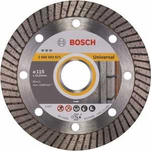 Диск алмазный Bosch 115х22.2 мм Best for Universal Turbo (2.608.602.671) диск алмазный bosch 150х22 2 мм best for universal turbo 2 608 602 673