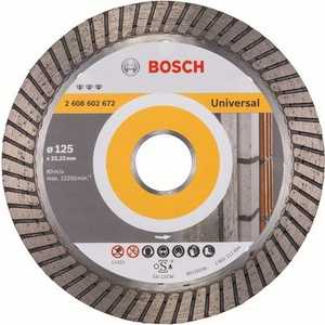 Диск алмазный Bosch 125х22.2 мм Best for Universal Turbo (2.608.602.672) диск алмазный bosch 150х22 2 мм best for universal turbo 2 608 602 673