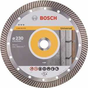 Диск алмазный Bosch 230х22.2 мм Best for Universal Turbo (2.608.602.675) диск алмазный bosch 150х22 2 мм best for universal turbo 2 608 602 673