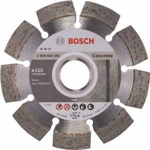 Алмазный диск Bosch 115х22.2 мм Expert for Concrete (2.608.602.555)