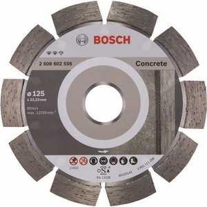 Диск алмазный Bosch 125х22.2 мм Expert for Concrete (2.608.602.556) диск алмазный bosch 450х25 4 мм expert for concrete 2 608 602 563