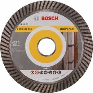 Диск алмазный Bosch 125х22.2 мм Expert for Universal Turbo (2.608.602.575) диск алмазный bosch 150х22 2 мм best for universal turbo 2 608 602 673