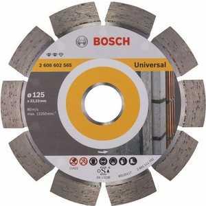 цена на Диск алмазный Bosch 125х22.2 мм Expert for Universal (2.608.602.565)