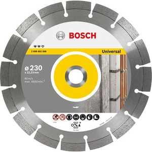 Диск алмазный Bosch 180х22.2 мм Expert for Universal (2.608.602.567) диск алмазный bosch 125х22 2 мм expert for universal turbo 2 608 602 575