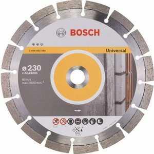 Диск алмазный Bosch 230х22.2 мм Expert for Universal (2.608.602.568) диск алмазный bosch 125х22 2 мм expert for universal turbo 2 608 602 575