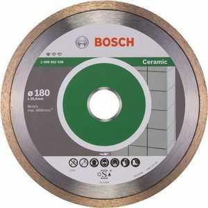 Диск алмазный Bosch 180х25.4 мм Standard for Ceramic (2.608.602.536) алмазный диск bosch standard for ceramic 115 22 23 2608602201