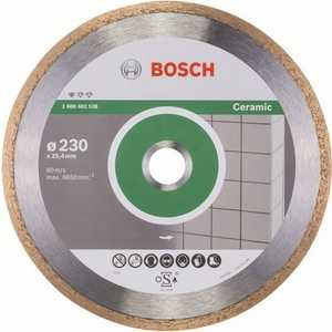 Диск алмазный Bosch 230х25.4 мм Standard for Ceramic (2.608.602.538) алмазный диск bosch standard for ceramic 115 22 23 2608602201