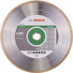 Диск алмазный Bosch 300х30/25.4 мм Standard for Ceramic (2.608.602.540) алмазный диск bosch standard for ceramic 115 22 23 2608602201