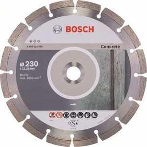 Диск алмазный Bosch 230х22.2 мм Standard for Concrete (2.608.602.200) диск алмазный bosch 125х22 2 мм 10 шт standard for concrete 2 608 603 240