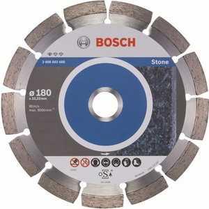 Диск алмазный Bosch 180х22.2 мм Standard for Stone (2.608.602.600)