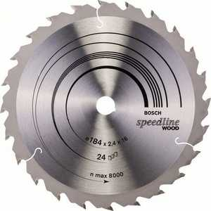 Диск пильный Bosch 184х16мм 24зуба Speedline Wood (2.608.640.795) цены