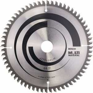 Диск пильный Bosch 235х30мм 64зубьев Multi Material (2.608.640.514)