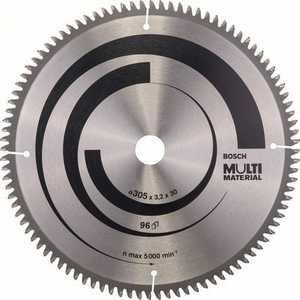 Диск пильный Bosch 305х30мм 96зубьев Multi Material (2.608.640.453)