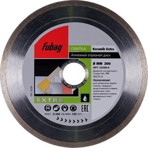 Алмазный диск Fubag 200х30/25.4мм Keramik Extra (33200-6)