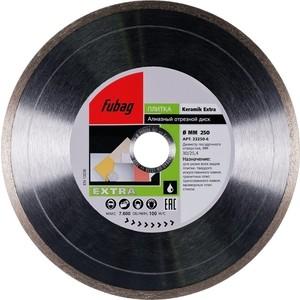 Диск алмазный Fubag 250х30/25.4мм Keramik Extra (33250-6) диск алмазный fubag 250х30 25 4мм mh i 58122 6