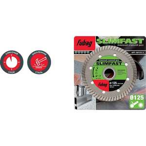 Алмазный диск Fubag 115х22.2мм Slim Fast (80115-3)