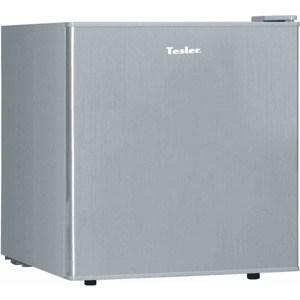 Холодильник Tesler RC-55 Silver холодильник tesler rcd 480i inox