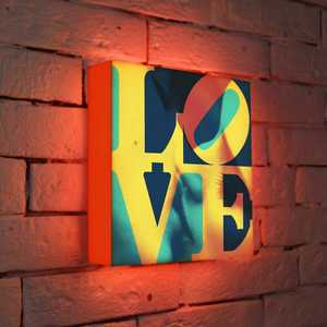 FotonioBox Лайтбокс LOVE 1 25x25-041 fotoniobox лайтбокс клод моне 3 45x45 145