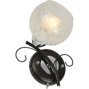 Бра IDLamp 234/1A-Blackchrome