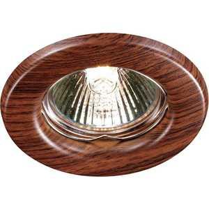 Точечный светильник Novotech 369714 встраиваемый светильник wood 369714