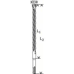 Бур SDS-Plus Bosch 12х400х465мм (1.618.596.269)