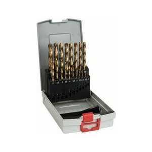 Набор сверл по металлу Bosch 1.0-10.0мм 19шт HSS-TIN ProBox (2.608.587.015)