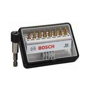 Набор бит Bosch х25мм 8шт + держатель S Max Grip Robust Line (2.607.002.574)