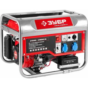 Генератор бензиновый Зубр ЗЭСБ-2800-Э генератор бензиновый зубр зэсб 4000 э