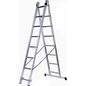 купить Лестница двухсекционная Зубр 2х7 ступеней (38821-07) онлайн