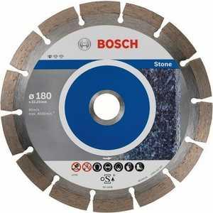 Диск алмазный Bosch 180х22.2мм 10шт Standard for Stone (2.608.603.237)