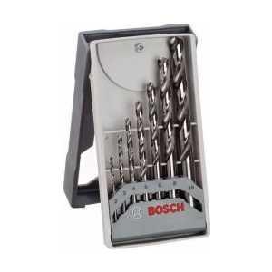 Набор сверл по металлу Bosch 2.0-10.0мм 7шт HSS-CO Mini X-Line (2.608.589.296) bosch 2 0 10 0мм 7шт hss co mini x line 2 608 589 296