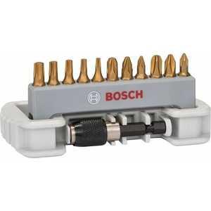Набор бит Bosch х25мм PH/PZ/TX 12шт + держатель (2.608.522.126) набор бит bosch х25мм ph pz tx sl hex 12шт держатель 2 608 522 128