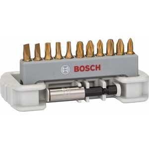 Набор бит Bosch х25мм PH/PZ/TX/SL 12шт + держатель (2.608.522.133) набор бит bosch х25мм ph pz tx sl hex 12шт держатель 2 608 522 128