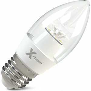 Светодиодная лампа X-flash XF-E27-CF-6.5W-4000K-220V Артикул 45983 цена и фото