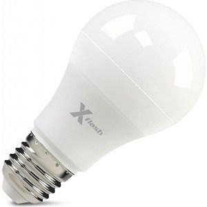 Светодиодная лампа X-flash XF-E27-A60-P-8W-3000K-12V Артикул 45938 лампочка x flash xf e27 ocl a65 p 12w 3000k 220v 46645