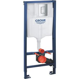 Инсталляция Grohe Rapid SL для унитаза с креплением и клавишей (38772001)