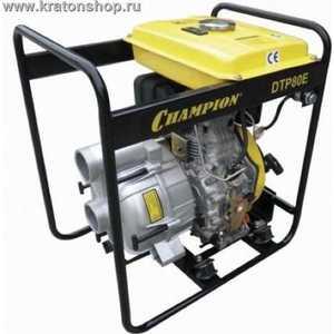 Мотопомпа дизельная Champion DTP81E
