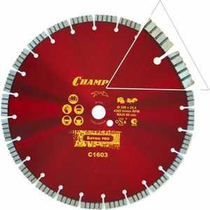 Диск алмазный Champion 350х25.4мм Concrete Crunch (C1603) недорго, оригинальная цена