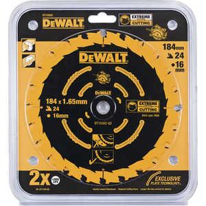 Диск пильный DeWALT 184х16мм 24зуба Extreme (DT 10302)
