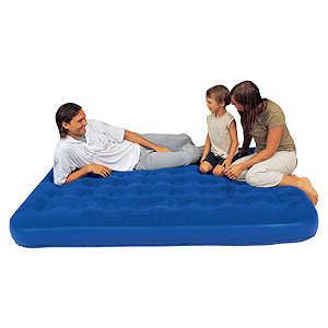 Надувная мебель Bestway Flocked Air Bed Double 67225 матрас надувной bestway flocked air bed 67001 bw
