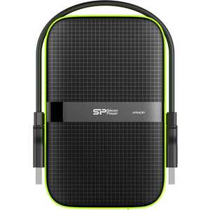 Внешний жесткий диск Silicon Power 1Tb SP010TBPHDA60S3K black (SP010TBPHDA60S3K)