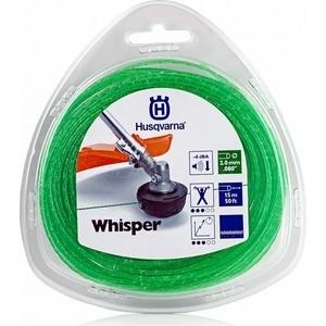 цены на Леска триммерная Husqvarna 2.0мм 130м Whisper (5784358-01)  в интернет-магазинах
