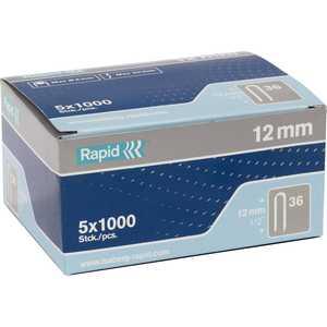 Скобы для степлера Rapid 12мм тип 36 5000шт Diverging Points (11885110)
