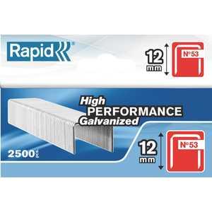 Скобы для степлера Rapid 12мм тип 53 2500шт красные Workline (11859625)