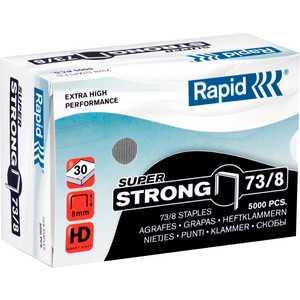 Скобы для степлера Rapid 8мм тип 73 5000шт SuperStrong (24890300)