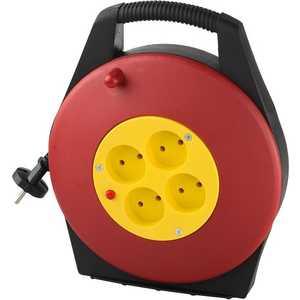 Удлинитель СВЕТОЗАР 10м на катушке (SV-55071-10) звонок электрический с кнопкой светозар аккорд 58036