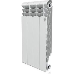 Радиатор отопления ROYAL Thermo алюминиевый Revolution 500 4 секции радиатор алюминиевый konner lux 4 секции 500 80
