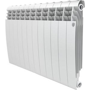 Радиатор отопления ROYAL Thermo биметаллический BiLiner 500 new секций 12 секций радиатор биметаллический konner 12 секций 500 80